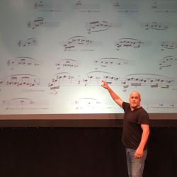 Composer Points at Gb