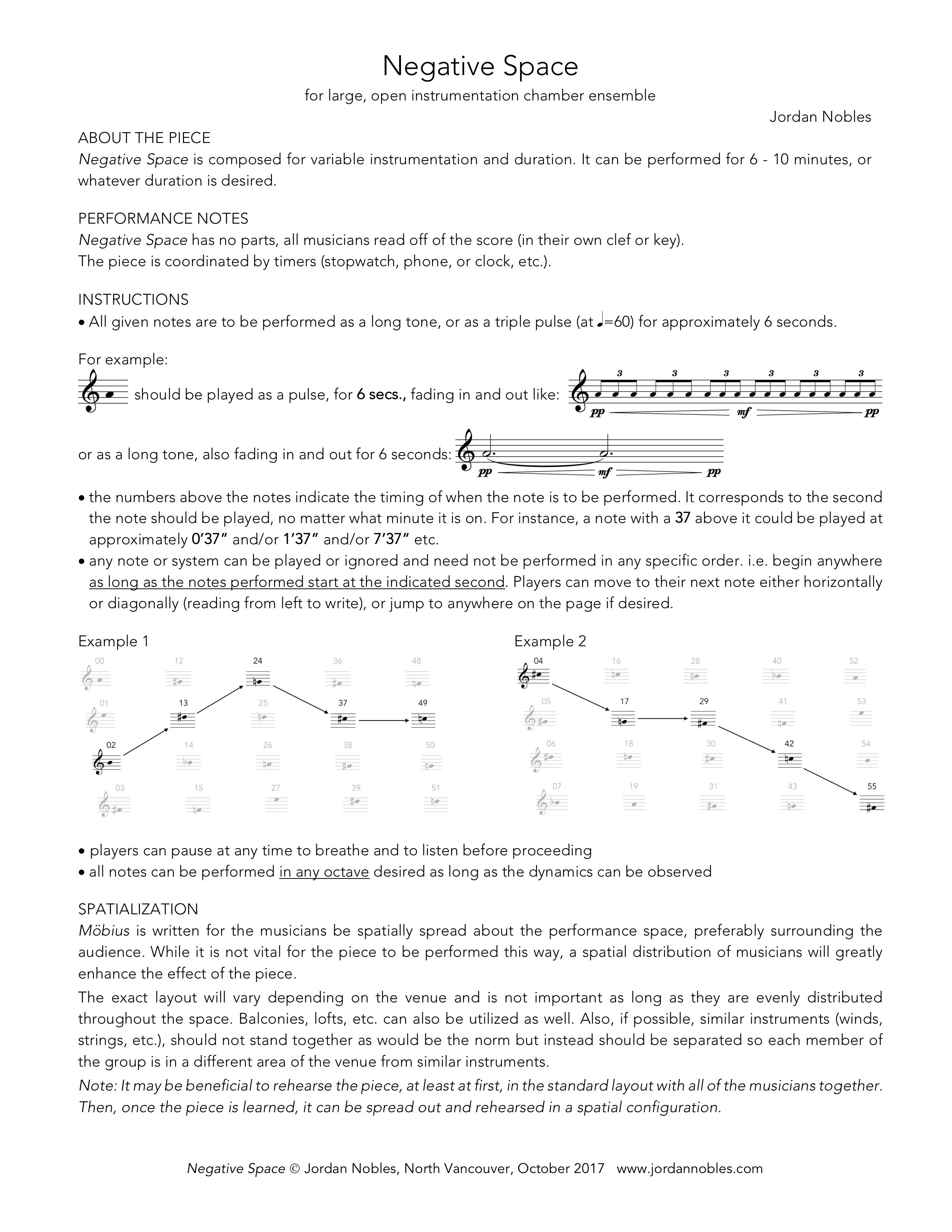 Open Score Collection | Jordan Nobles - composer